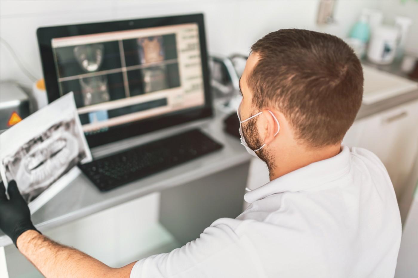 Radiografia dentară digitală